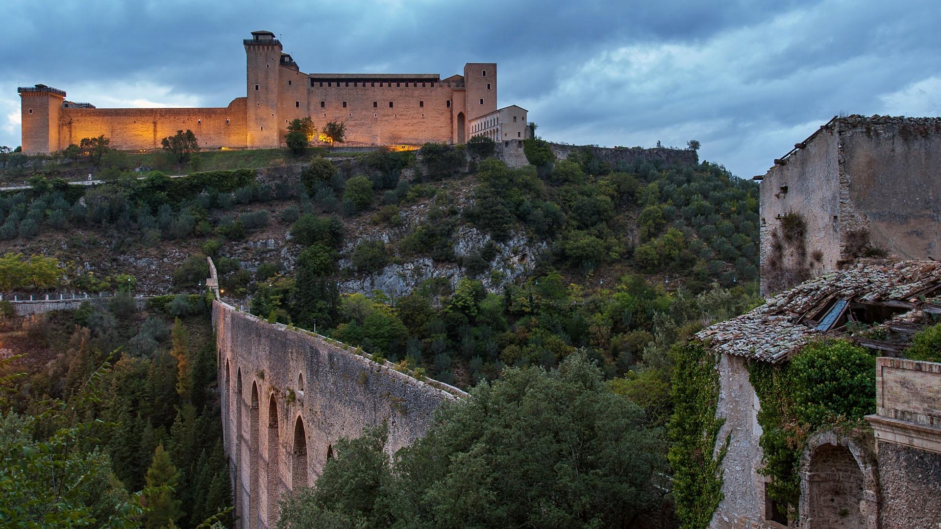 Rocca Albornoziana and Ponte delle Torri, Spoleto