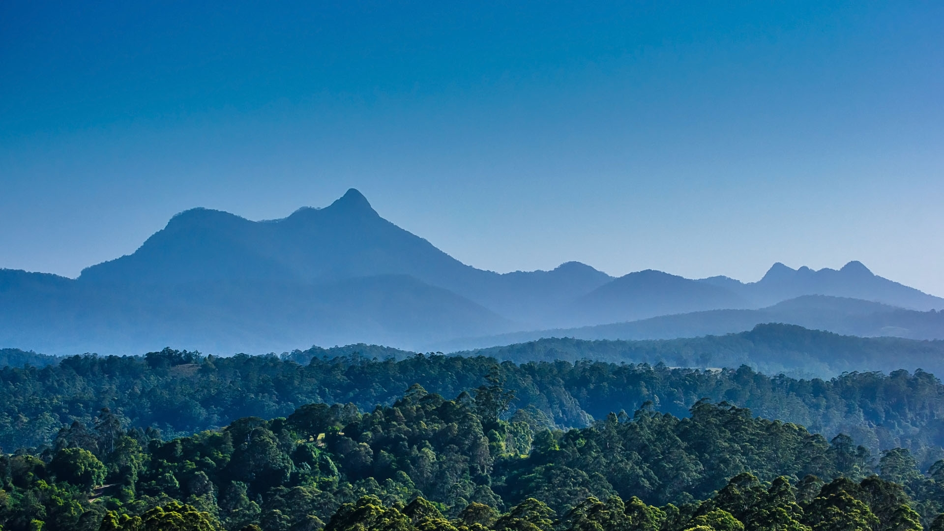 Mt Warning, New South Wales AU