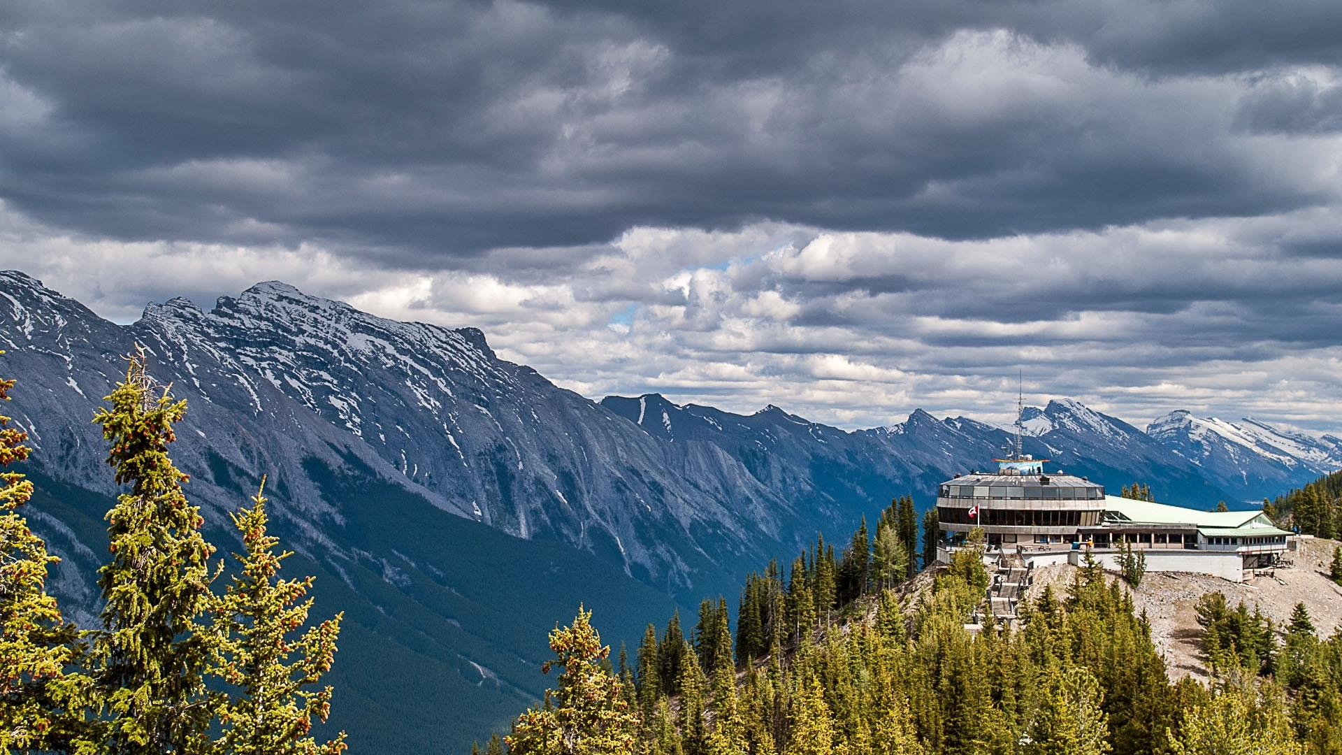 Sulphur Mountain, Alberta, Canada