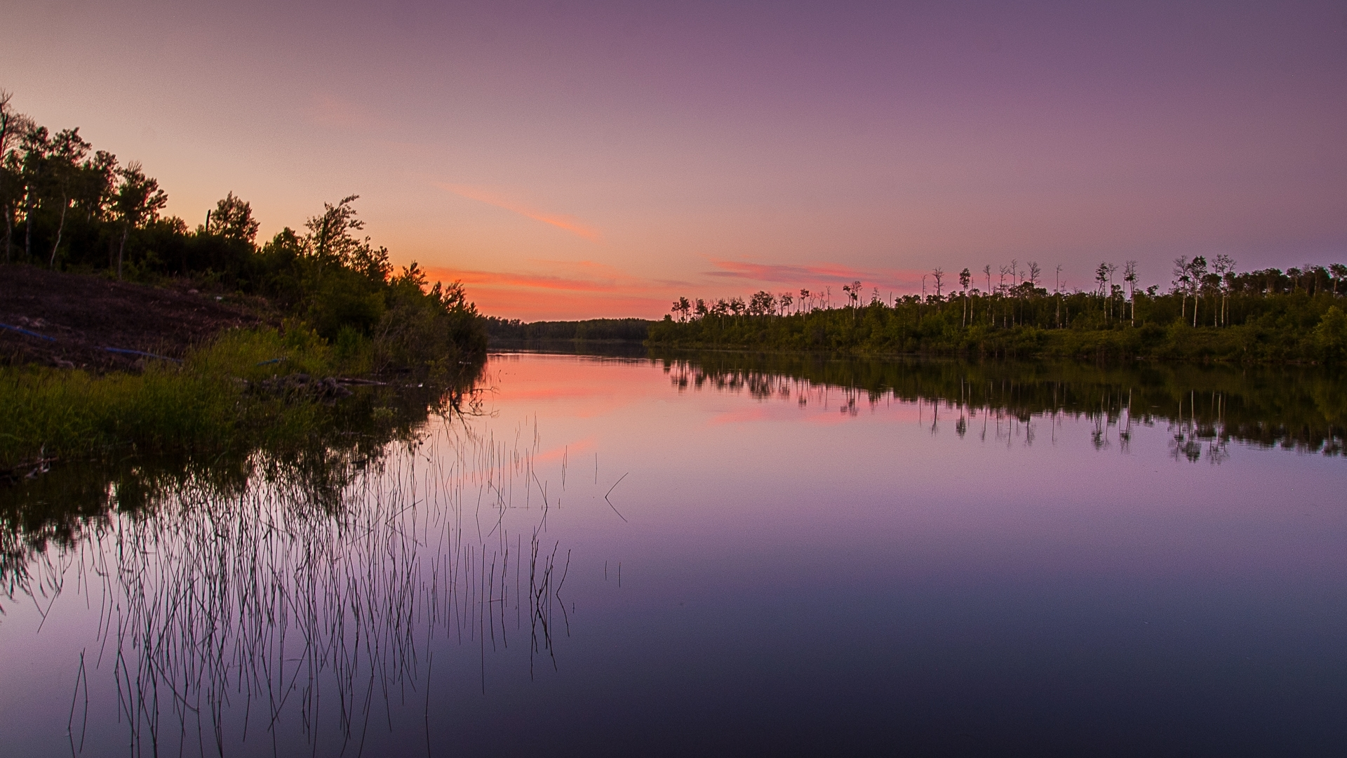 Perry's Lake, near Medstead, SK, Canada