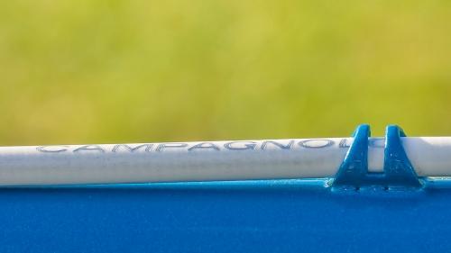 Brake cable detail.
